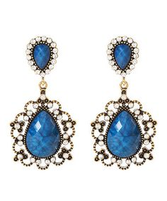 Take a look at this Lapis Amagansett Earrings by Amrita Singh on #zulily today!