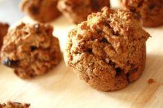 Muffins aux carottes, noix et dattes (sans gluten)