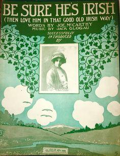 Irish Sayings, Irish Quotes, Irish American, American Pride, Old Irish, Vintage Sheet Music, Good Old, Album Covers, Love Him