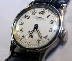 Rare Vintage Patek Phillippe FOR Tiffany AND CO Watch 1st Calatrava $50K Value | eBay