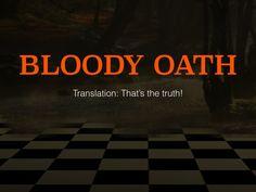 Blood Oath! #australia #newzealand #quotes http://www.slideshare.net/AdamNettlefold/9-aussie-phrases-that-americans-should-start-using