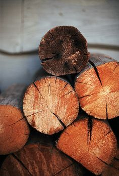 My mama always enjoyed seeing a stack of wood placed by the fireplaces in winter.