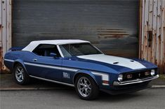 Sold* at Palm Beach 2012 - Lot #72 1972 FORD MUSTANG CUSTOM CONVERTIBLE