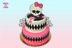 Torta Monster High. | Torty pre deti Žilina - detské, marcipánové, 3D, a iné torty na objednávku