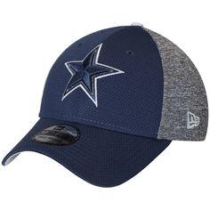 33a51326a25 Men s Dallas Cowboys New Era Navy Fierce Fill 39THIRTY Flex Hat