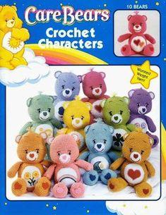 Artesanato com amor...by Lu Guimarães: Revista Care Bears Crochet Characters Amigurumi Ur...