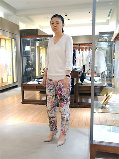 Flower Pants 2