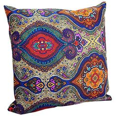Benfan Decorative Pillowcase with Canvas Pillow Covers Printing Flower for Sofa Decorative Pillow Covers 20x20 ** Read more  at the image link. (This is an Amazon Affiliate link and I receive a commission for the sales)