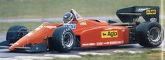 1985 Ferrari 126C4-M2 (Johnny Dumfries test Fioriano)