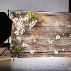 Flower Wood Photo Background Photography Studio Backdrop Props