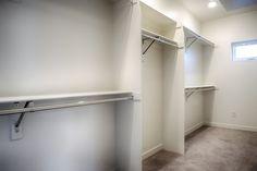 Need to revamp your closet space? // Design by 303 Development Closet Space, Custom Homes, Denver, King, Ceiling Lights, Design, Home Decor, Cabinet Space, Room Decor