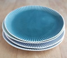 Teal Lunch Plate from Villarreal Ceramics — Faith's Daily Find 08.31.12
