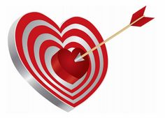 Illustration of Arrow on Archery Red Heart Shape Target Board Bullseye Isolated on White Background Illustration vector art, clipart and stock vectors. God Will Provide, Ever And Ever, Special Person, Archery, Word Of God, Law Of Attraction, Vector Art, Heart Shapes, Clip Art