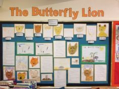The Butterfly Lion by Michael Morpurgo display