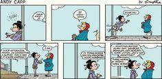 Andy Capp Comic Strip, August 02, 2015     on GoComics.com