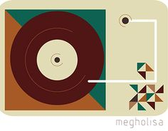 """Check out new work on my @Behance portfolio: """"vinyl record player"""" http://be.net/gallery/43287341/vinyl-record-player"""