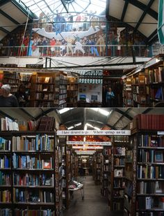 The Barter Books in Alnwick, UK