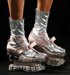 Quirky Prada Platforms at Spring Summer 2013 – Hot Or Not?