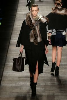 Fendi @ Milan Fashion Week winter 2014-15 - video