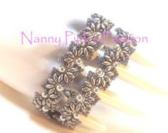 TUTORIAL Madeira Lace Bracelet by NannyPinksPassion on Etsy