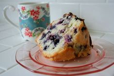 Lemon Blueberry Pound Cake - Family Favorite