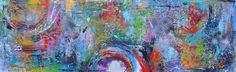 World of energy, schilderij van Kunstenares Mir, Mirthe Kolkman | Abstract | Modern | Kunst
