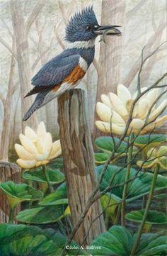 John A. Ruthven Original Paintings 18