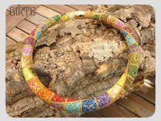 Dieses Collier habe ich bei Brigitte I. entdeckt und wer mich kennt weiß, das ich an diesen Farben nicht vorbei kann ;o) Drum war ich fle...