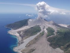 Soufriere Volcano Montserrat...did not see it errupt when I was there thankfully !