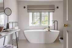 Interior Architecture and Interior Design Project | Cotswold Country House — Gunter & Co Luxury Interior Design, Home Interior, Interior Architecture, Interior Ideas, Modern Bathtub, Cottage Renovation, Cottage Interiors, Country Interiors, Bath Design