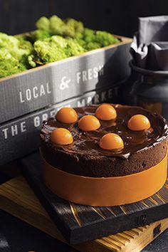 Шоколадный тарт с абрикосами и нежным муссом - Andy Chef - блог о еде и путешествиях, пошаговые рецепты, интернет-магазин для кондитеров