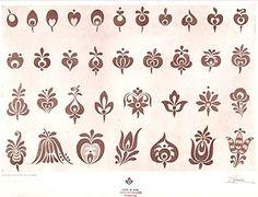 """Hungarian Embroidery Pattern Képtalálat a következőre: """"modern népi minta"""" - Hungarian Tattoo, Hungarian Embroidery, Folk Embroidery, Learn Embroidery, Chain Stitch Embroidery, Embroidery Stitches, Embroidery Patterns, Stitch Head, Embroidery Techniques"""