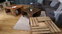 Un joli tryon de table basse réalisé par Jean Perea - DIY -