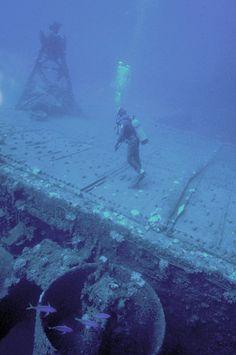 Deck of the Saratoga CV-3