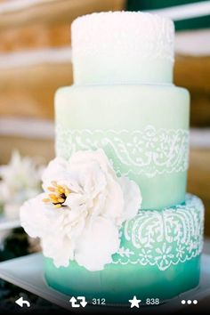 Love these colors for a wedding ... Found it on twitter