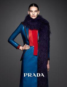 Amanda-Murphy in Prada Campaign by Ishi