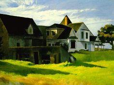 Edward Hopper, Cape Cod Afternoon (1936).