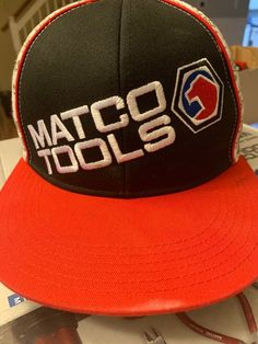 9fdd1af0f5ce0 Matco Tools Flat Bill Baseball Cap Hat  fashion  clothing  shoes   accessories  mensaccessories  hats (ebay link)