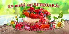felicitari de zi de nastere pentru sora - Поиск в Google Fruit Salad, Strawberry, Food, Google, Fruit Salads, Strawberry Fruit, Meals, Strawberries, Yemek