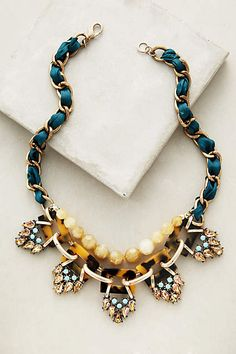 Cyprien Bib Necklace - anthropologie.com