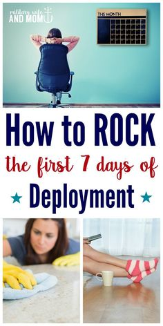 The Brutally Honest Guide for Surviving the First Week of Deployment via /lauren9098/