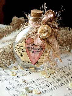Paris Heart Bottle