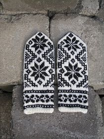 Knit Mittens, Mitten Gloves, Aurora, Norway In A Nutshell, Christmas Knitting, Fingerless Gloves, Hand Knitting, Diy And Crafts, Knit Crochet