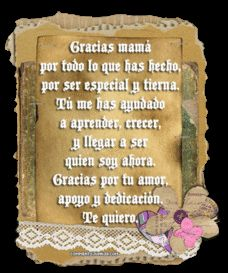 mothers day images in spanish | leave it upon a beautiful mother s time card it s improved to leave ...