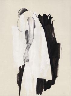 Contemporary fashion illustration // Esra Roise