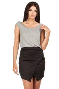 Sexy mini skirt with pleats
