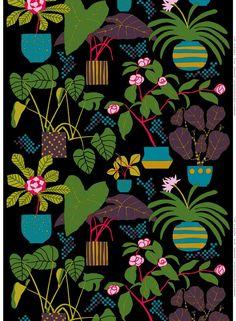 Graphic Design - Pattern Design Ideas - Ikkunaprinssi cotton fabric by marimekko Pattern Design : – Picture : – Description Ikkunaprinssi cotton fabric by marimekko -Read More –