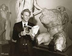 "Ledger at an art academy in Prague., I've seen a lot of 'actory' types,"" said Shannyn Sossamon, Ledger's love interest in A Knight's Tale. ""Heath is not actory. Heath Legder, Joker Heath, The Four Feathers, Shannyn Sossamon, You Are My Moon, Rufus Sewell, Drew Scott, Art Academy, Diana Ross"