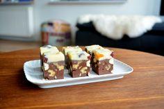Recept: Chocolate Fudge met noten, cranberry en abrikoos
