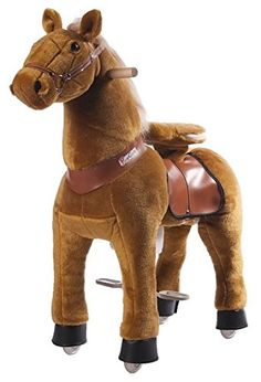 Sekt Braun Pferd auf Rädern Ponycycle Medium   Your #1 Source for Toys and Games